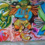 Voodoo Dancer Happypill Graffiti Auftrag Münster