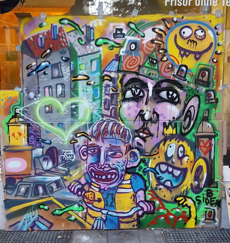 graffiti character comic volker happypill xxcrew b-side