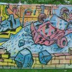 ridin real low chracter graffiti graffitiart streetart auto paderborn